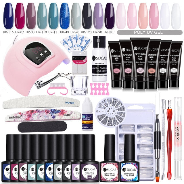 Mega Pack - Vernis semi permanents + Polygels - La Manucure
