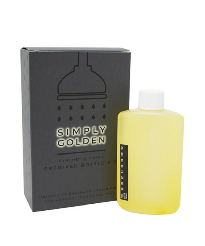 Simply Golden Synthetic Urine Premixed Bottle Kit