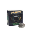 Atmos Greedy Steel & Quartz Atomizer 2pk