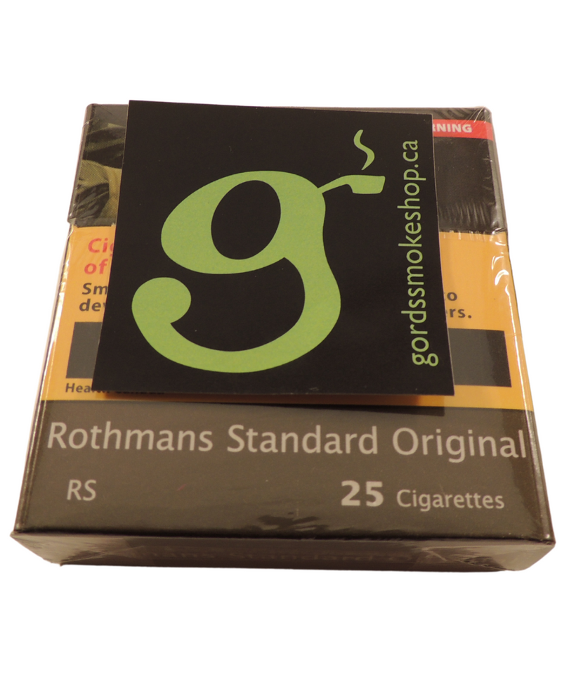 Rothmans Standard Original Regular 25