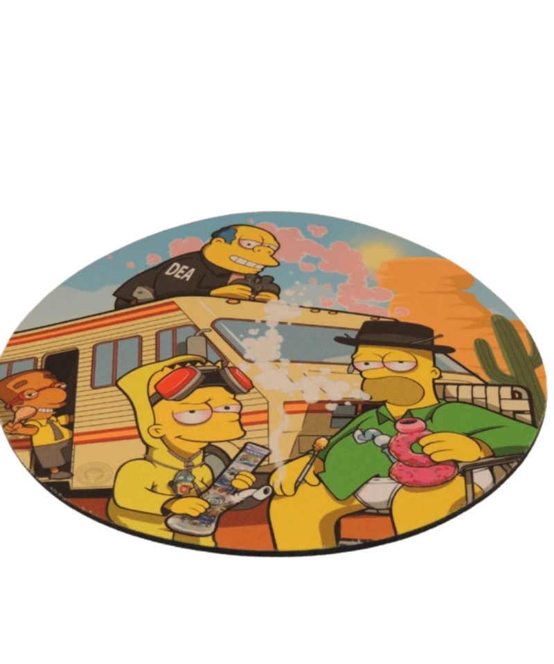 Breaking Bart Dab Mat