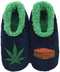 Snoozies Womens Medium Brownie & Leaf Slippers