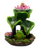 Frog & Lily Pad Backflow Incense Burner