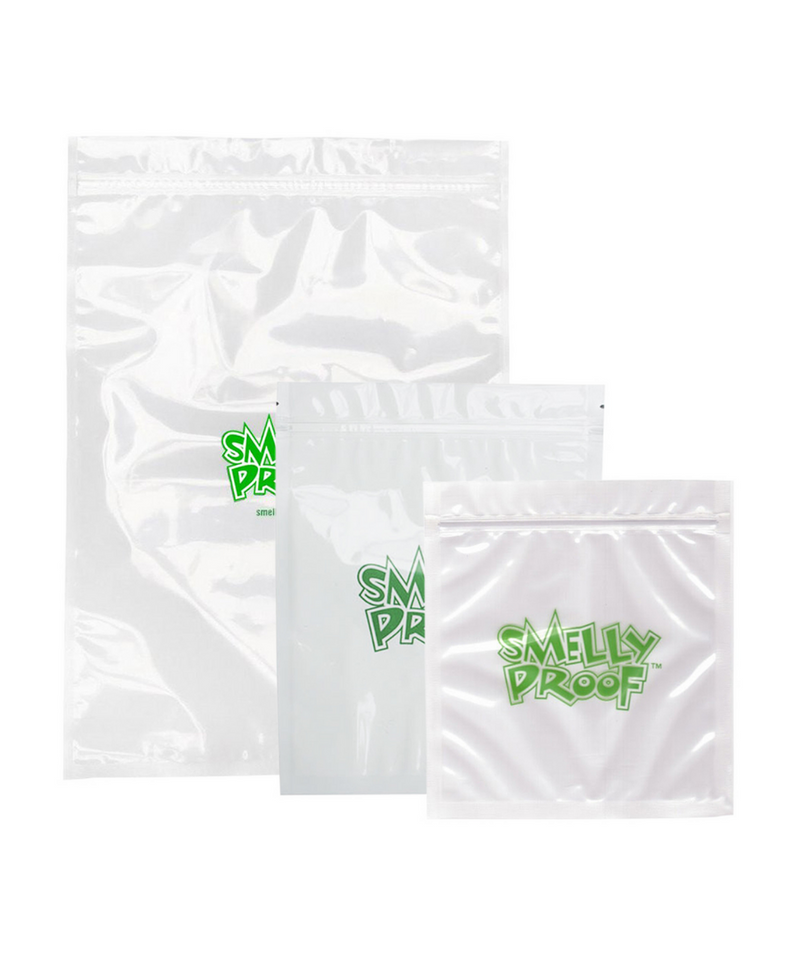 Smelly Proof Clear Bags