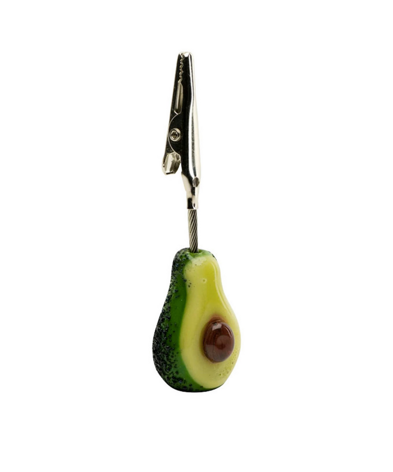 Empire Glassworks Roach Clip Avocado