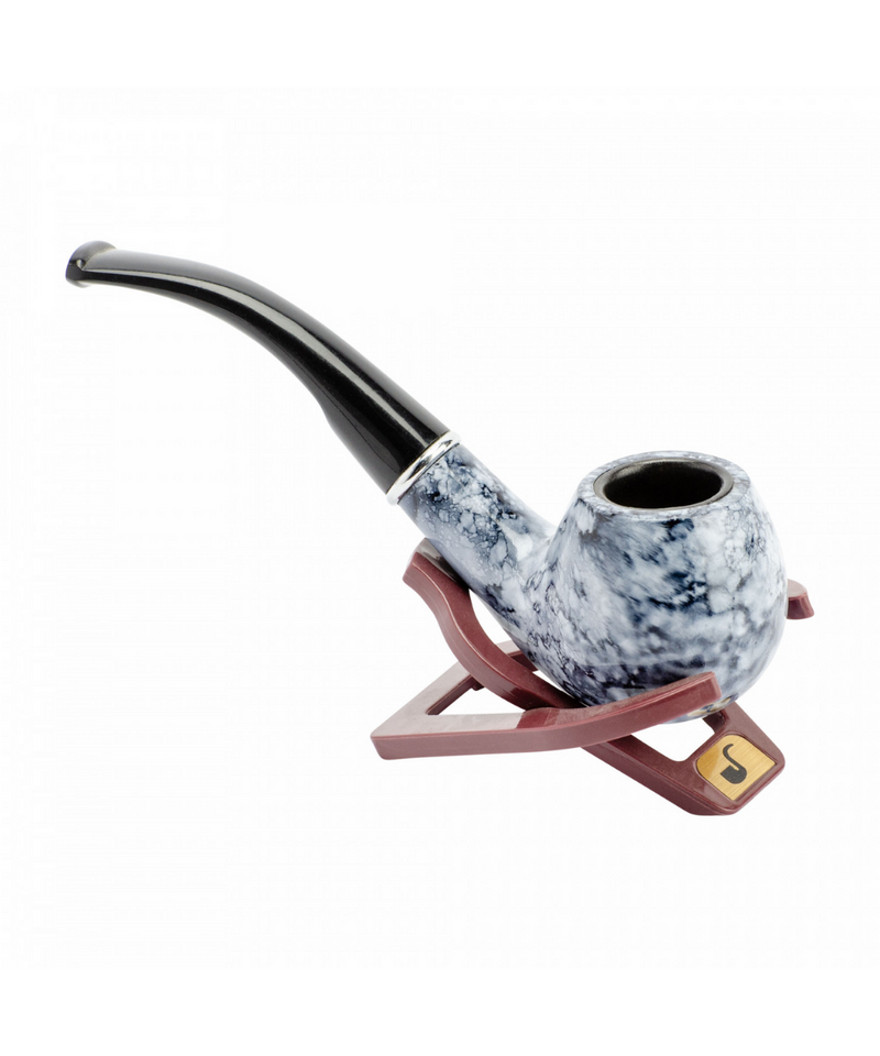 Grey Marble Tobacco Pipe