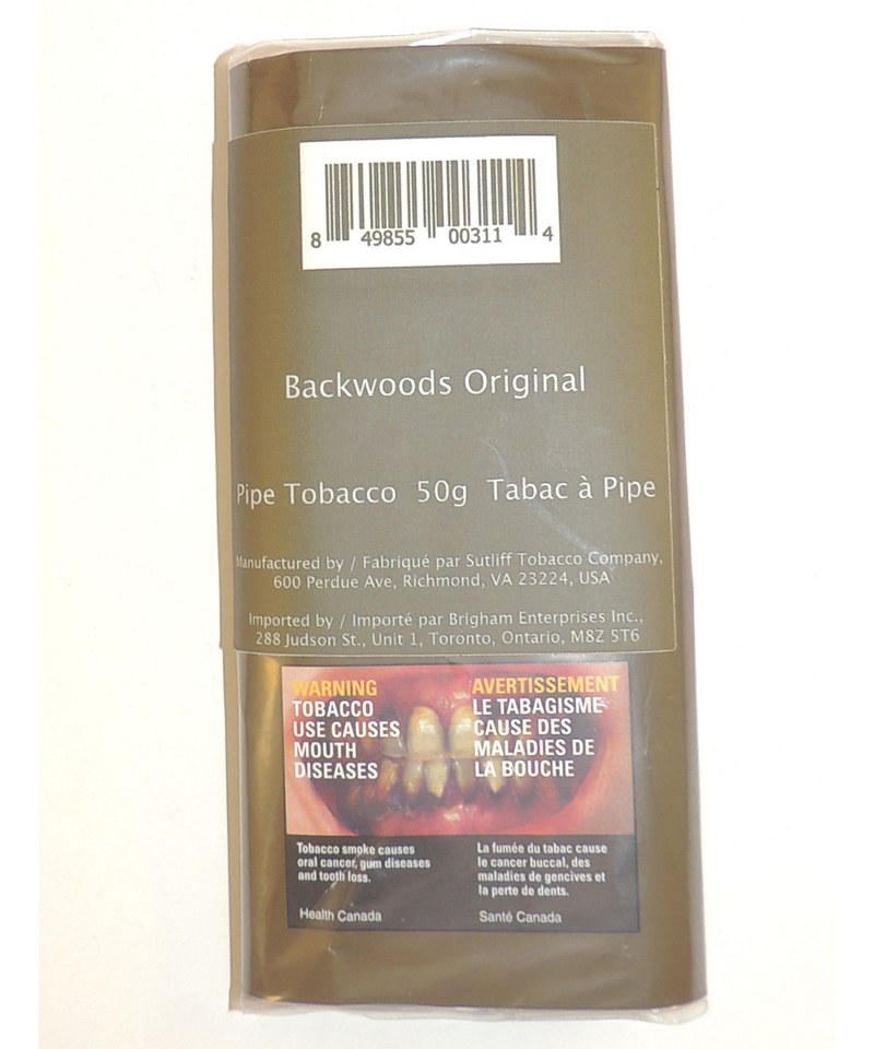 Backwoods Original Pipe Tobacco 50g