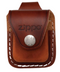 Zippo Lighter Brown Leather Pouch With Loop