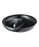 Black Plastic Ashtray