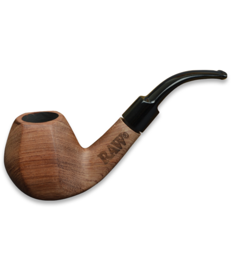 Raw Tobacco Pipe