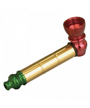 Metal Anodized Rasta Pipe