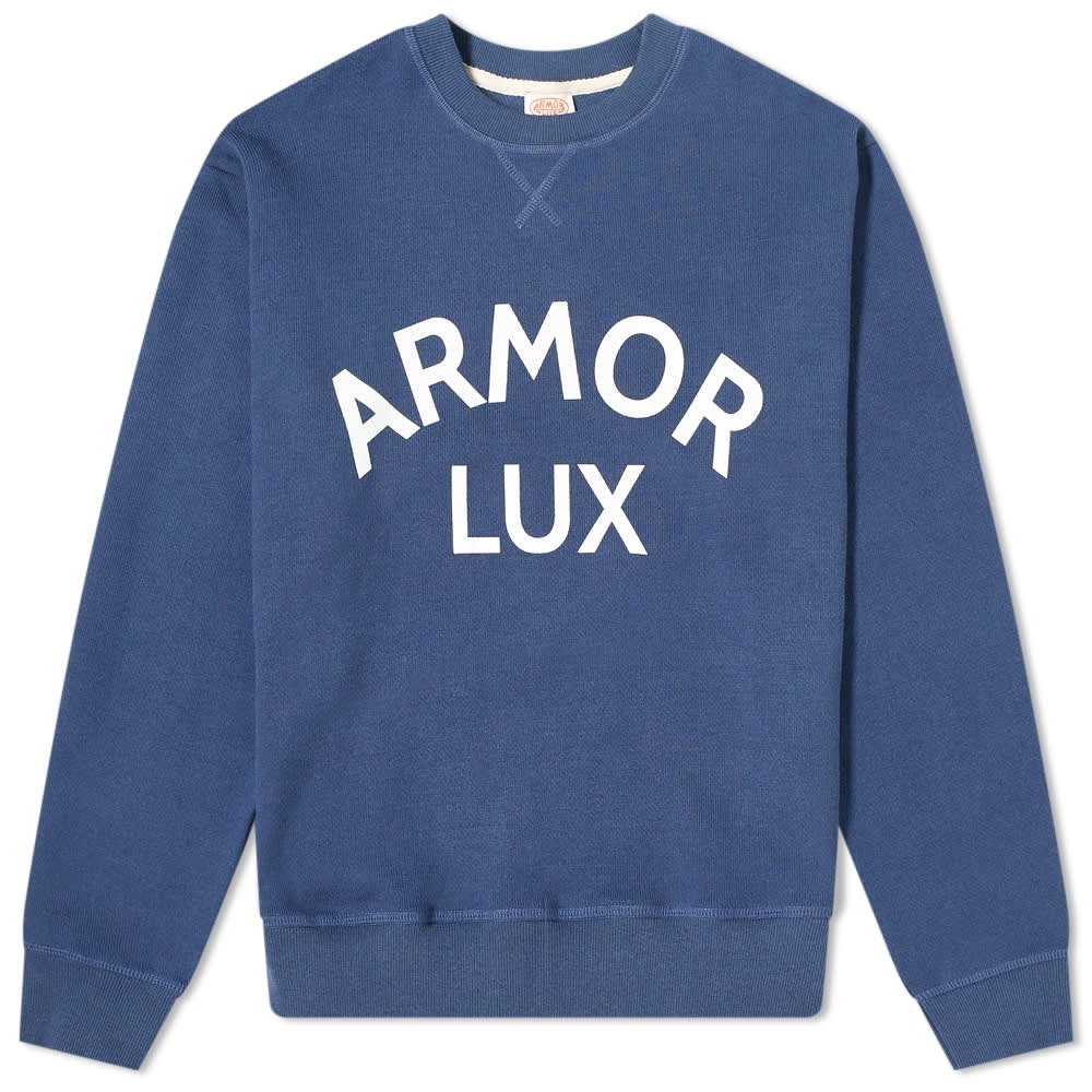 SWEAT BLUE BIG PRINT ARMORLUX
