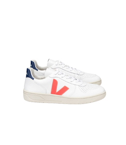 V-10 EXTRA WHITE ORANGE FLUO COBALT MEN
