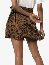 Load image into Gallery viewer, MINI SKIRT PRINTED GEORGETTE TIGER