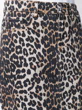 Load image into Gallery viewer, SKIRT PRINT DENIM LEOPARD
