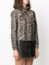 Load image into Gallery viewer, JACKET PRINT DENIM LEOPARD