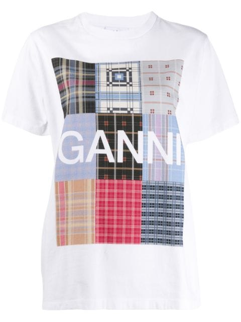TSHIRT BASIC COTTON PATCHWORK