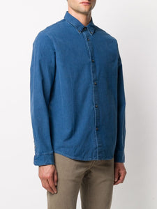 BUTTON DOWN SHIRT INDIGO