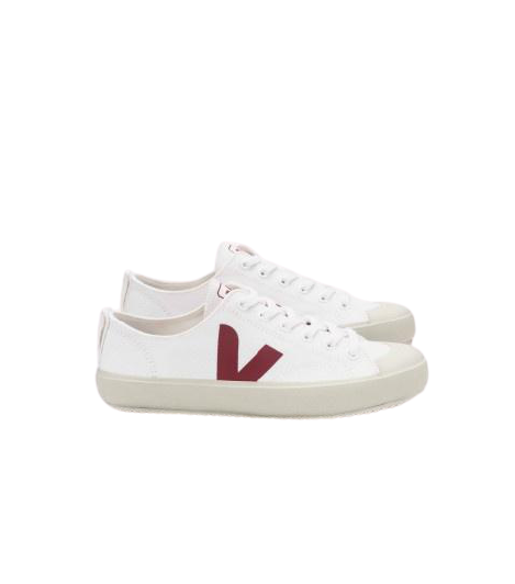 NOVA CANVAS WHITE MARSALA MEN