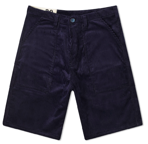 SHORT FATIGUE CORDUROY NAVY