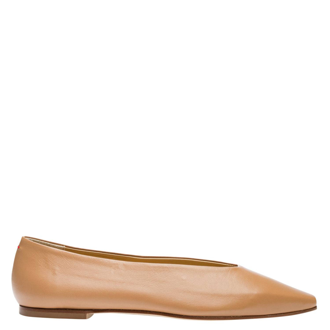 BETTY NAPPA LEATHER HAZELNUT