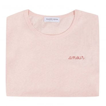 AMOUR T-SHIRT PINK