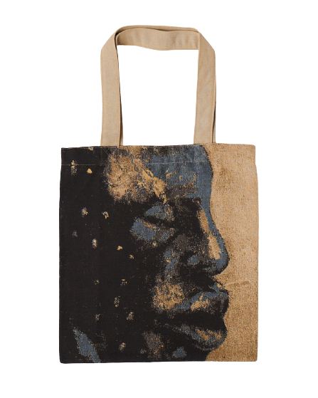 COTTON TOTE BAG X BUHLE NKALASHE