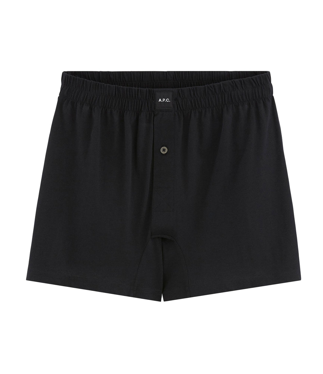 BLACK CABOURG BOXER SHORTS