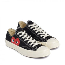 Load image into Gallery viewer, BLACK LOW TOP LOGO PRINT CONVERSE