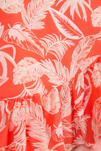Load image into Gallery viewer, FLORAL SKIRT CORAL