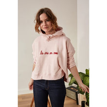 Load image into Gallery viewer, LA VIE EN ROSE HOODIE
