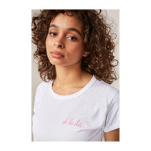 Load image into Gallery viewer, OH LA LA WHITE T-SHIRT