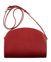 Load image into Gallery viewer, HALF MOON BAG DARK RED