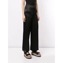 Load image into Gallery viewer, MICRO POLKA DOT WIDE LEG TROUSERS