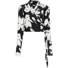 Load image into Gallery viewer, ALAMEDA FLORAL PRINT WRAP TOP