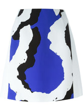 Load image into Gallery viewer, ABSTRACT PRINT PANEL MINI SKIRT