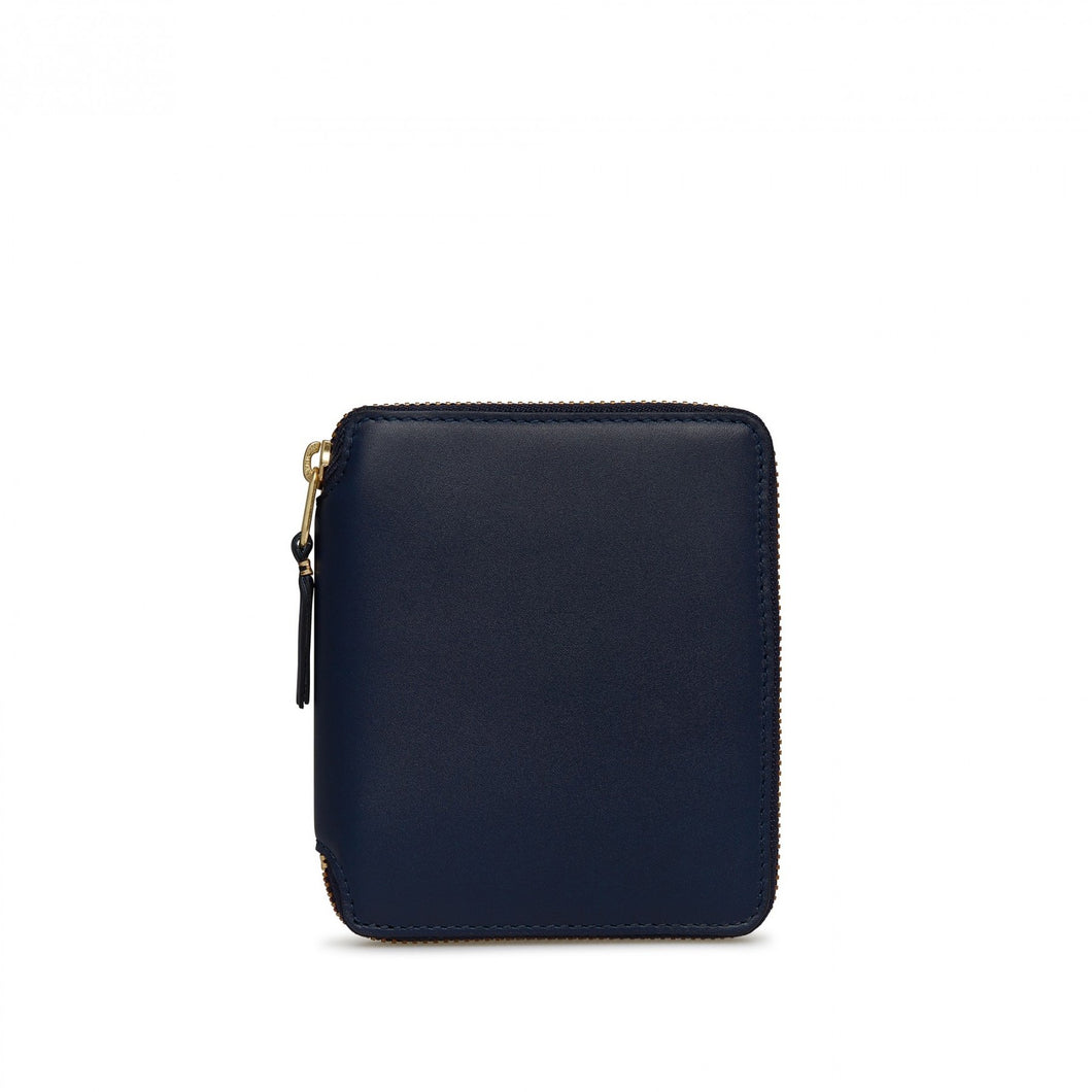ZIP AROUND WALLET CLASSIC LINE NAVY