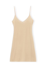 Load image into Gallery viewer, SLIP DRESS RAYON TANNIN