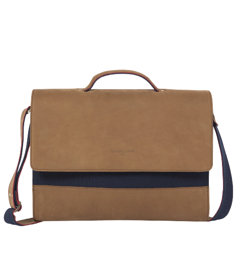 BAG 16MAY BROWN BLUE COGNAC