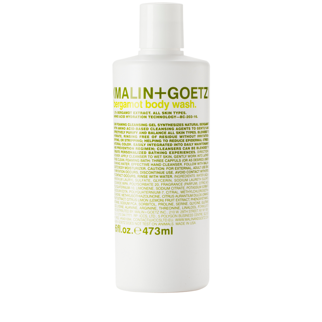 BERGAMOT BODY WASH 16OZ.