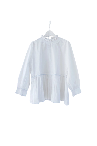 POET BLOUSE WHITE