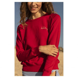 HOLIDAYS RED SWEATER