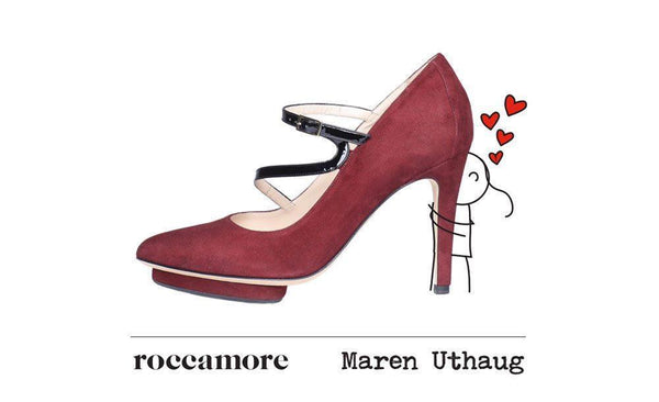 SHOES & ART:  ROCCAMORE x MAREN