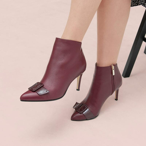 henry-burgundy-buckle-leather-boot-roccamore