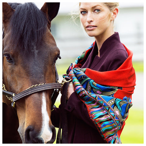 Silkhorse Signature Limited Edition Scarf
