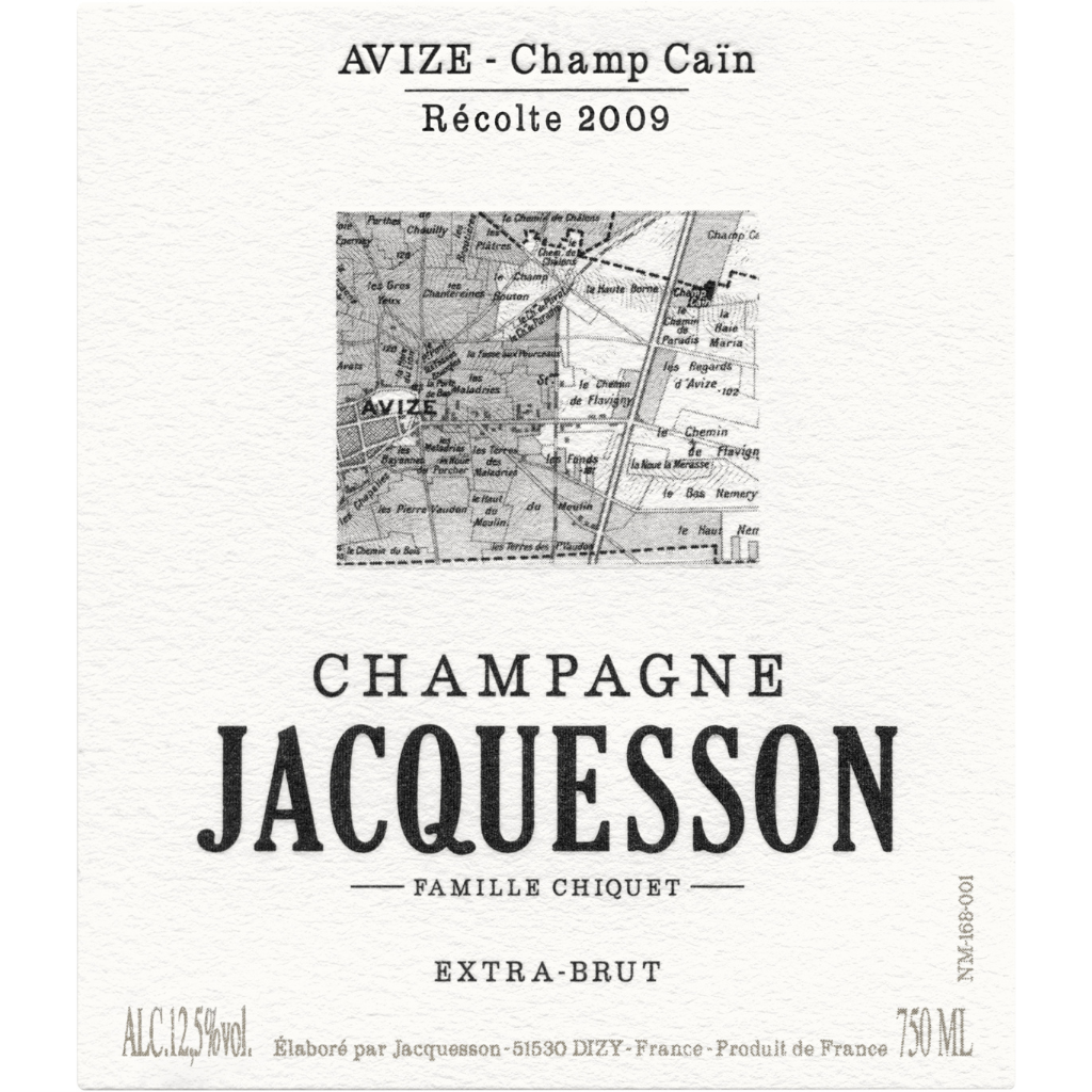 Champagne Jacquesson Avize Champ Cain 2019