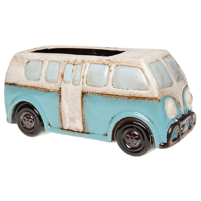Village Pottery Campervan Plant Pot | GORGEOUS GEORGE