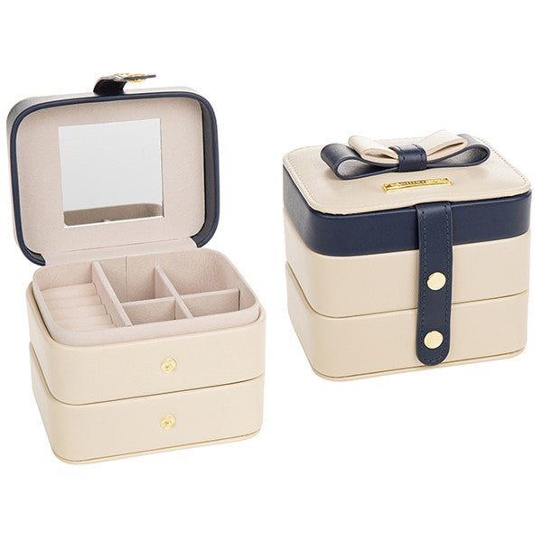 Two Tier Rectangle Jewellery Box | GORGEOUS GEORGE