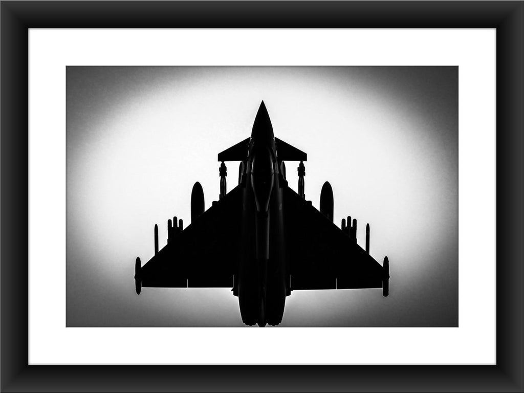 Mounted BAE Typhoon Print - GORGEOUS GEORGE