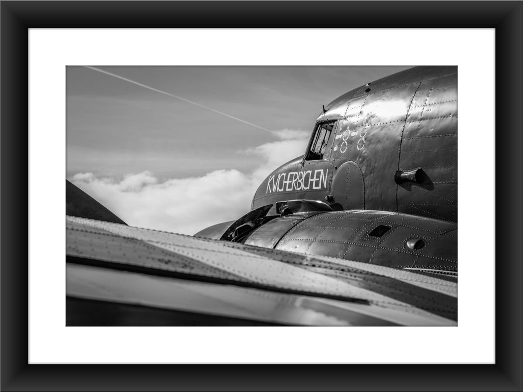 Mounted BBMF Dakota Print - GORGEOUS GEORGE